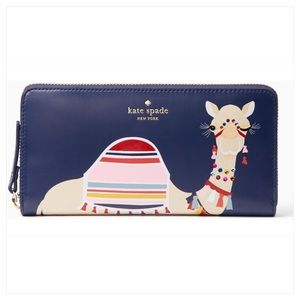 ♠️Kate Spade♠️ Spice Things Up Camel Lacey Wallet